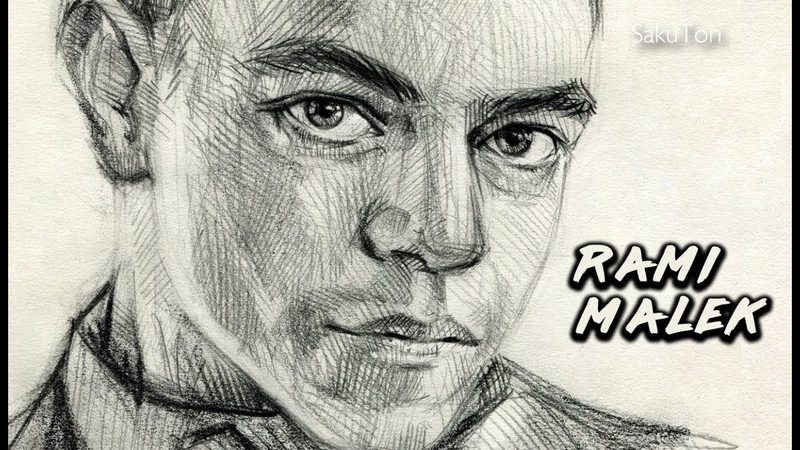 [ Bohemian Rhapsody ] Rami Malek Speed drawing by SakuTori