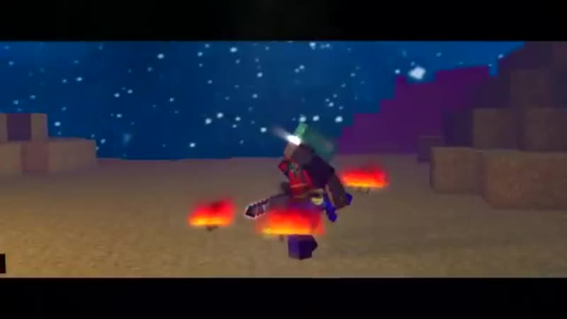 V VS ENTITY 303 Майнкрафт Клип На Русском Herobrine Life Minecraft Parody Song
