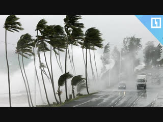 Тропический шторм в Таиланде
