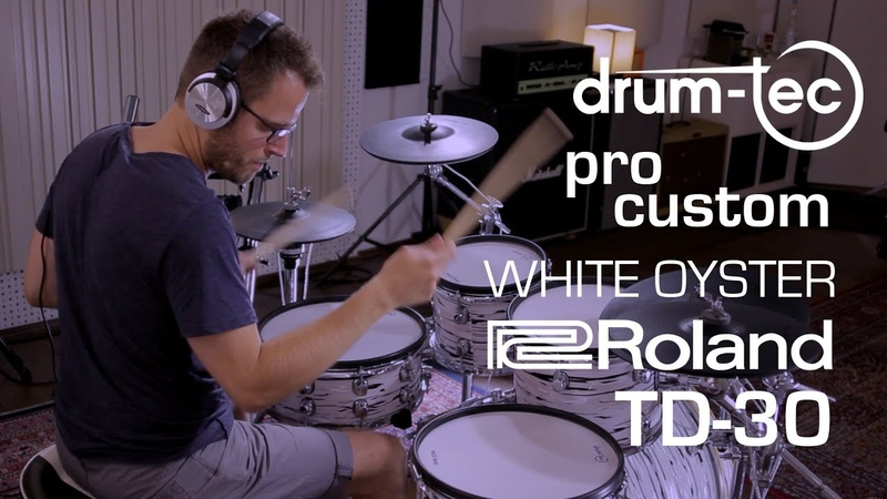 Roland TD-30 with drum-tec pro custom electronic drums