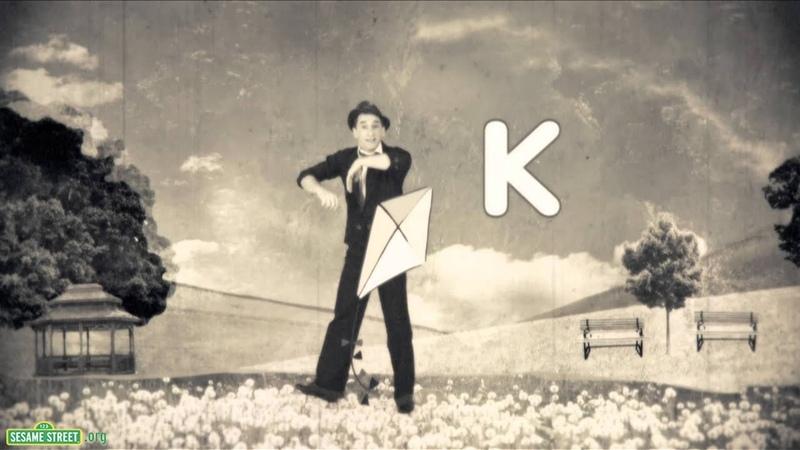 Sesame Street Goldmime K is for Kite