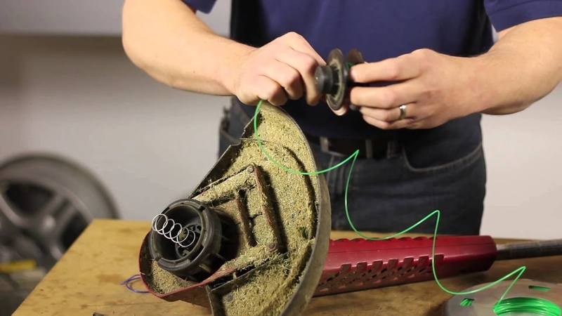How to Replace the String on a Toro Trimmer Lawn Care Power Tools
