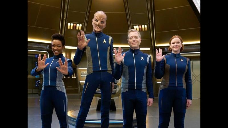 Carpool Karaoke The Series Cast of Star Trek Discovery Live Now on the Apple TV app