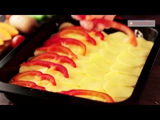 Картофель По-королевски в духовке - идеальное сочетание, которое покорит сразу!