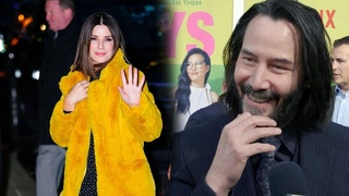 Keanu Reeves Would Love Reunite With Former 'Speed' Co-Star Sandra Bullock on Screen (Exclusive)