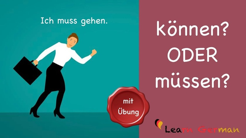 Learn German | Common Mistakes in German | können oder müssen | A1 | A2