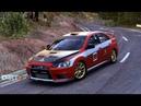 Ралли Mitsubishi Lancer Evolution X на Valle Fulleda, Subida. DIRT Rally(DIRT 4)