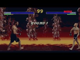 Хабиб  Порье в стиле Mortal Kombat 3