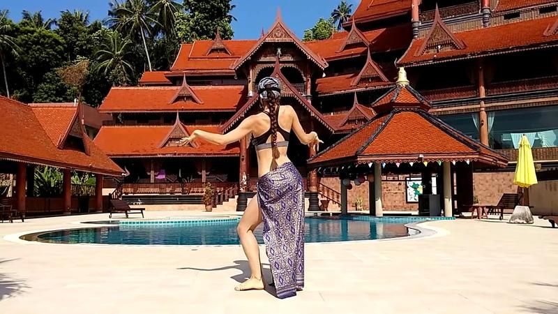 Motolana Tribal fusion improvization in Koh Phangan Rezort