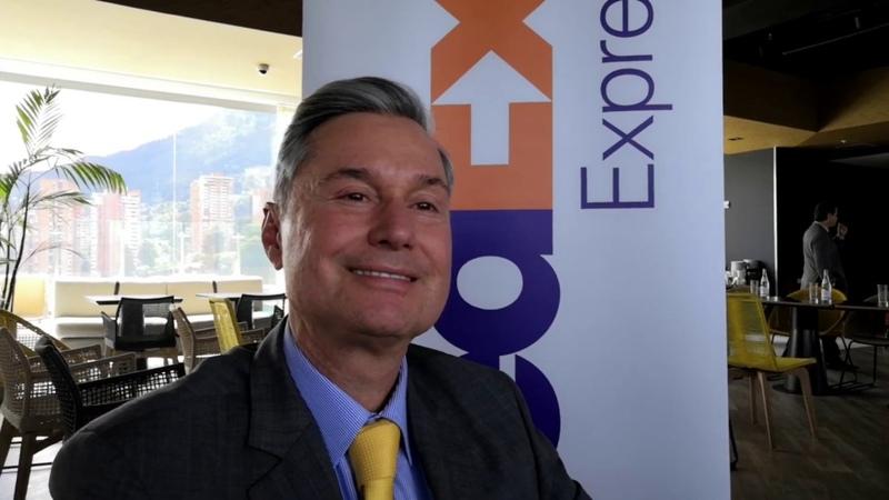 EDUARDO BERRIZBEITIA GERENTE FEDEX EXPRESS COLOMBIA