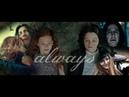 Severus Snape Tribute Always Life isn't fair Alan Rickman Harry Potter pfc edits