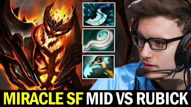 MIRACLE Shadow Fiend Bad Start but not a Big Deal Mid vs Rubick