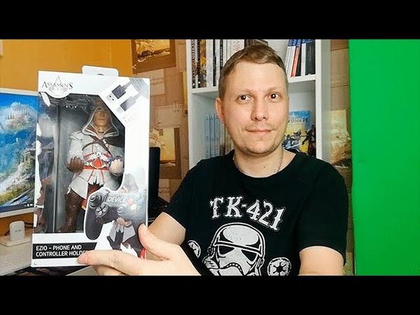 Распаковка Обзор Фигурка Exquisite Gaming Cable Guy Assassins Creed Ezio
