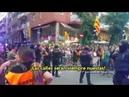 Lazis hacen un asedio a la Guarcia Civil en Gracia (Bcn) y se encuentran con una sorpresa