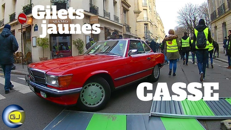 Acte 13 gilets jaunes Paris les temps forts 9 février 2019 Casseurs