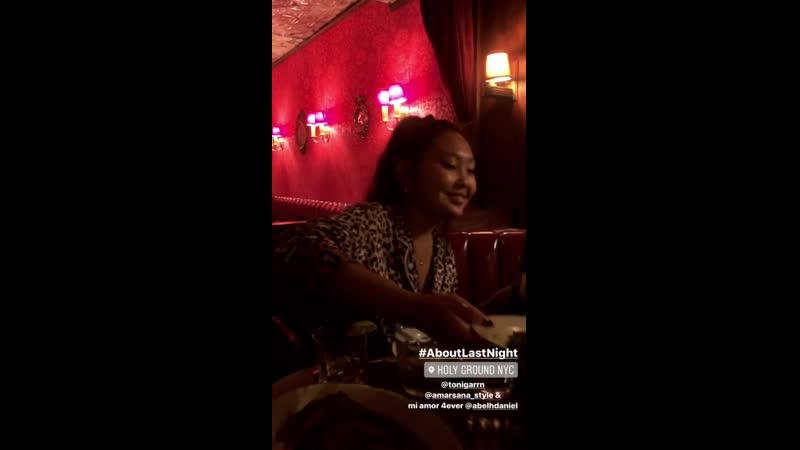Instagram stories Olivia Anakwe