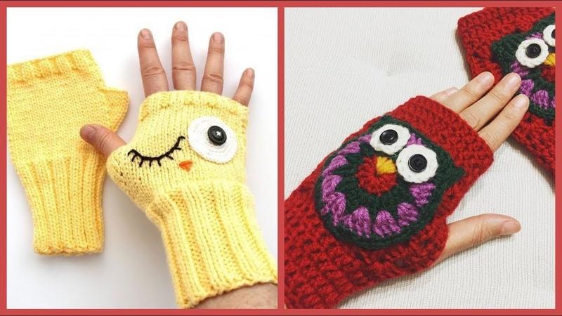 Örgü eldivenler örgü bayan eldiven modelleri