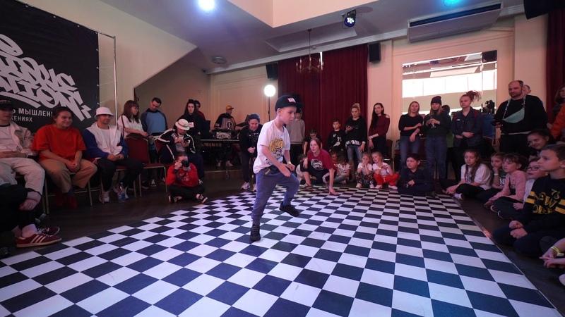 Ezdina Katya vs. Dovzhenko David. Quarterfinal. Hip Hop 1x1 Baby