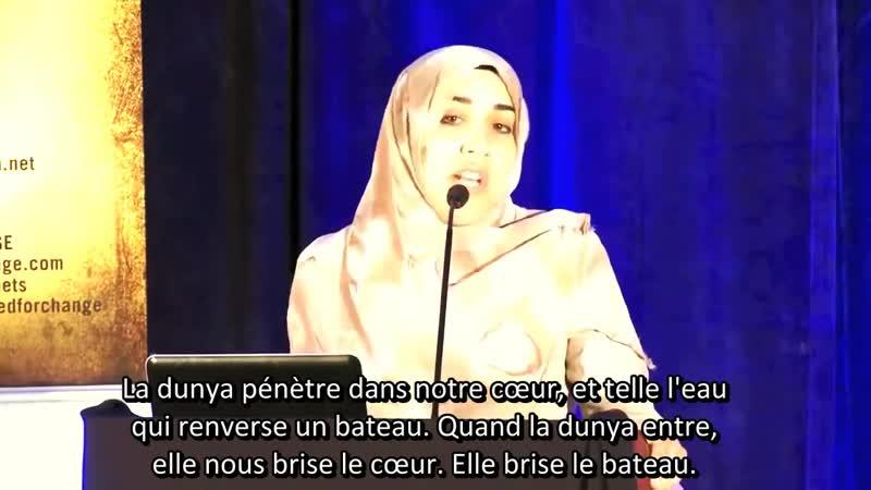 Yasmin Mogahed Poverty of the Soul La Pauvreté de l'Âme Vostfr HD