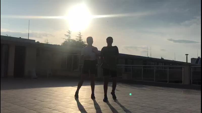 сборы 2019 Болгария лето солнце море пляж ну и куда же без танцев