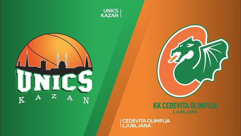 UNICS Kazan - Cedevita Olimpija Ljubljana Highlights | 7DAYS EuroCup, RS Round 2