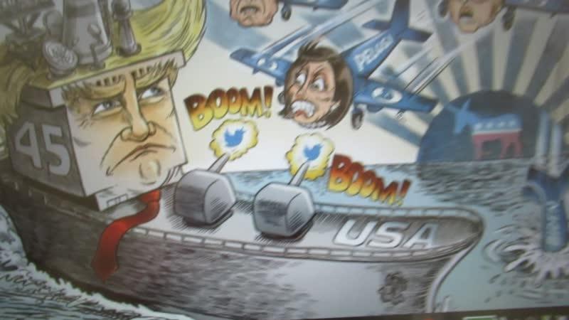 Hysterie nu de oorlog aller oorlogen de beslissende fase ingaat