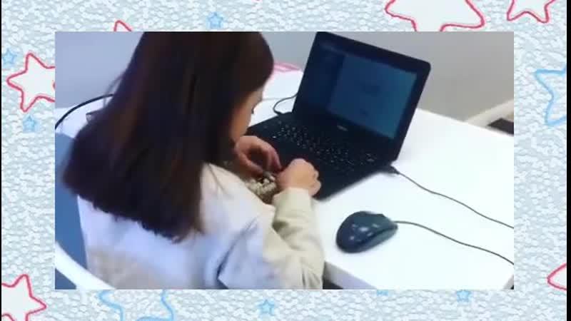Это надо увидеть! Девочка виртуозно вычисляет!