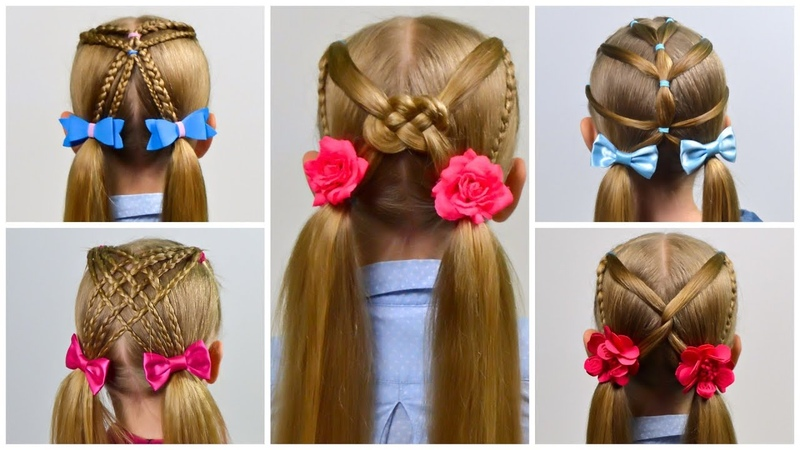 7 EASY HEATLESS BACK TO SCHOOL HAIRSTYLES! (Little girls hairstyles 25) LGH