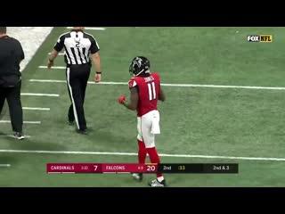 Хулио Джонс против Патрика Питерсона - 2018 год - американский футбол - лучшие моменты