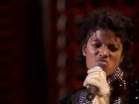 Michael Jackson - Billie Jean (LIVE) (1983) (Motown 25: Yesterday, Today and Forever) (1st Moonwalk)