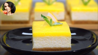 Лимонная Вкуснятина! Простейший Рецепт Чизкейка | Кулинарим с Таней