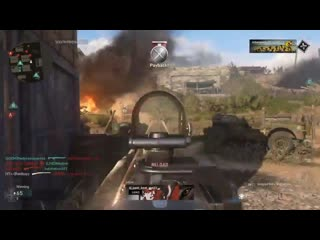 Escalation + the rifle bullet = feeds. cod wwii