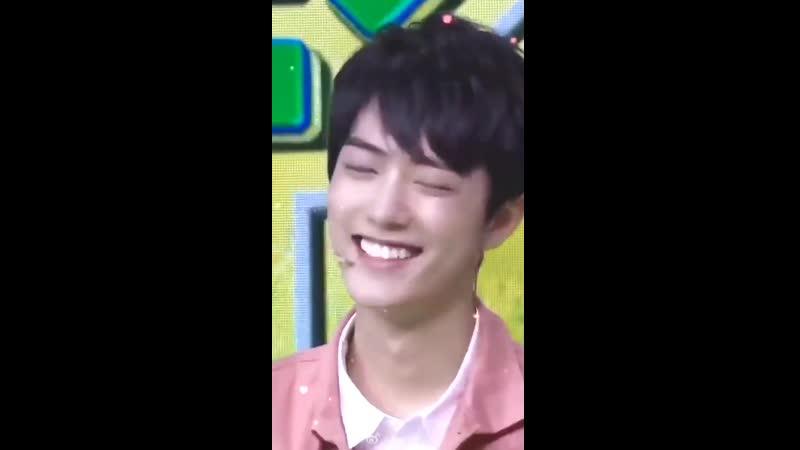 XiaoZhan's smile