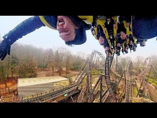 [360 on-ride] The Smiler at Alton Towers, UK