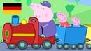Peppa Wutz Opa's Kleine Trein Peppa Pig Deutsch Neue Folgen Cartoons für Kinder