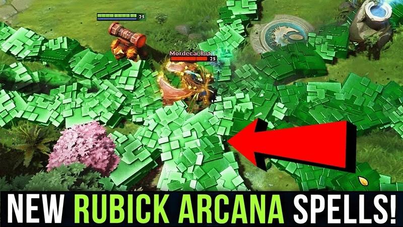 NEW Rubick Arcana Custom Spells by Bu3nyy Dota 2