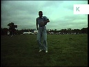 1989 Outdoor Rave, Dancing Solo, UK Acid House, Archive Footage