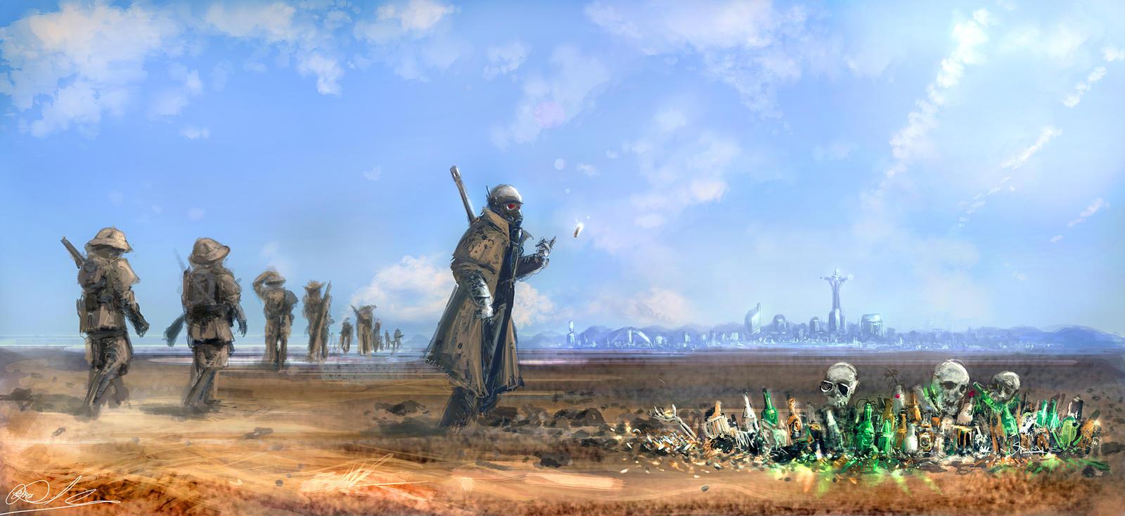 Fallout New Vegas НКР