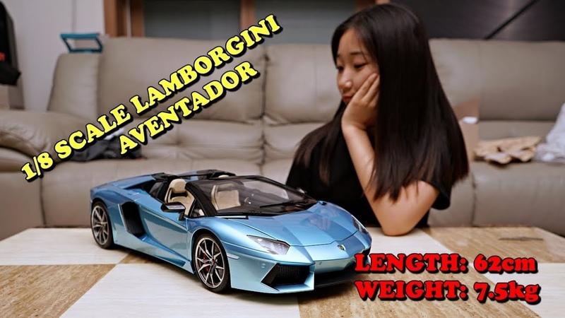 [ Pocher] 1/8 scale Lamborghini aventador Roadster ★FINISH★FULL BUILD