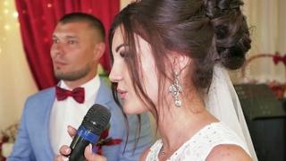 невеста довела до слез всех присутствующих.самая трогательная благодарность маме