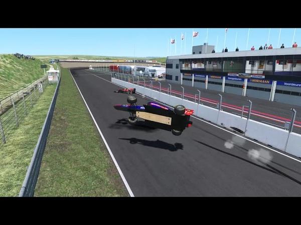 VRC GP3 2019 - Round 6 - Zandvoort Club - битва за 2 место (другой вид)