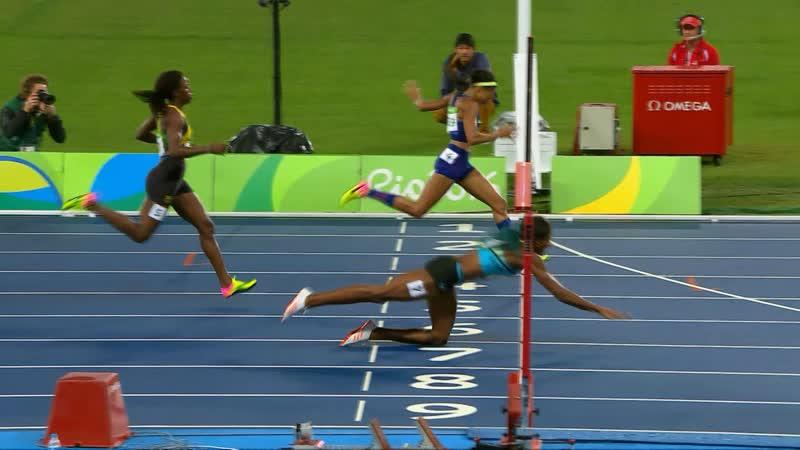 2016.08.15 Rio de Janeiro 400m Shaunae MILLER UIBO 49.44c
