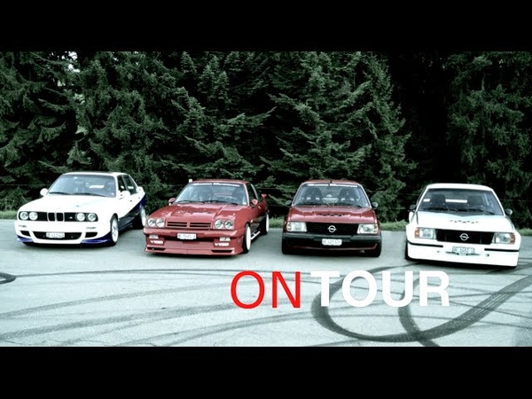 Saturday Night Cruisin' - Opel Ascona B 400, Ascona B, Manta B, BMW 325i E30