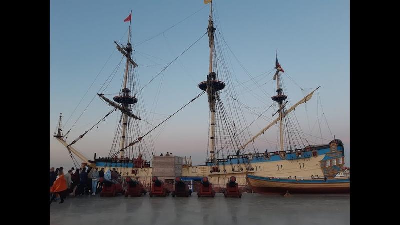 Корабль-музей Полтава и залп из пушки, СПб. Ночь музеев '19. Последнее видео