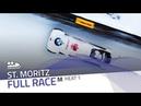 St. Moritz | BMW IBSF World Cup 2018 2019 - 2-Man Bobsleigh Heat 1 | IBSF Official