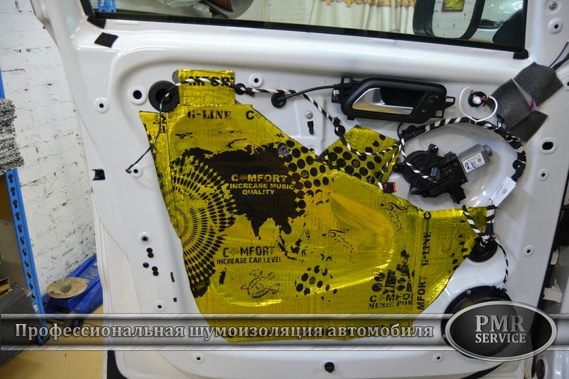 Шумоизоляция Volkswagen Amarok, изображение №7