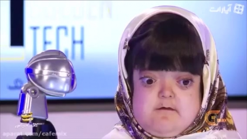 Beautiful voice disabled (BLiND) iranian girl sings miraculously