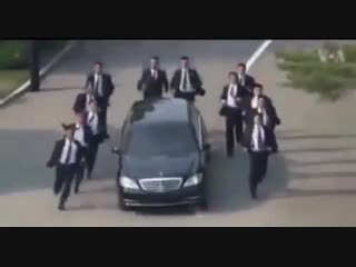 Spurs fans accompanying Pochettino to work right