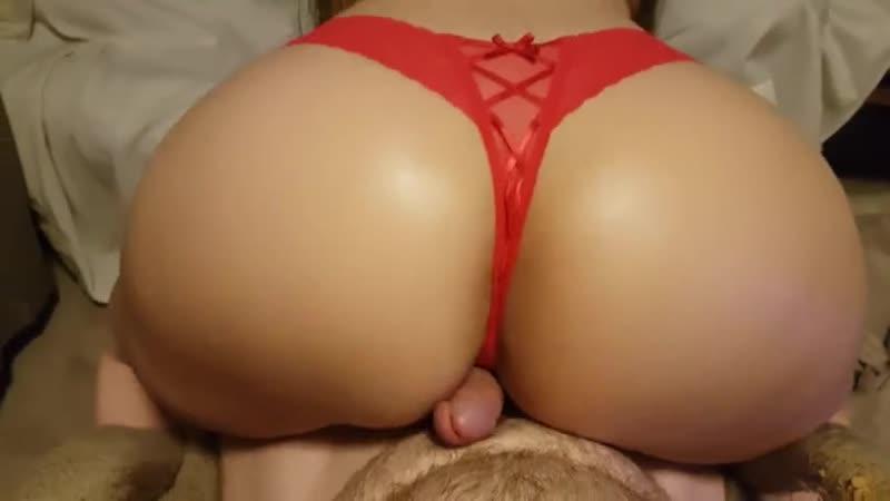 Big ass thong twerking dick
