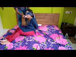 Hogtie challenge fun video l dupatta gag l विडियो जरूर देखो। janhvi patil